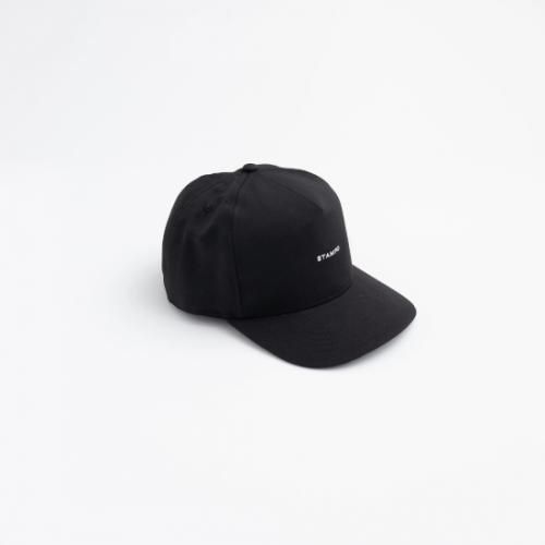 STAMPD 【スタンプド】 Classic Logo Snap Cap BLACK (S-U2646HT)
