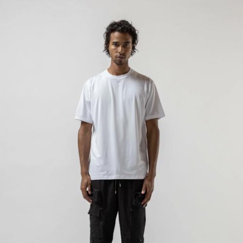 Stampd 【スタンプド】 ラッシュガードTシャツ WHITE (S-M2507TE)