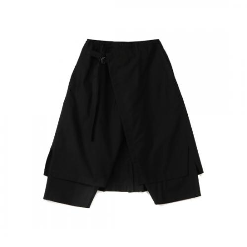 Yohji Yamamoto POUR HOMME C/TWILL CLASSIC WRAP PANTS (HD-P06-002-2-02)