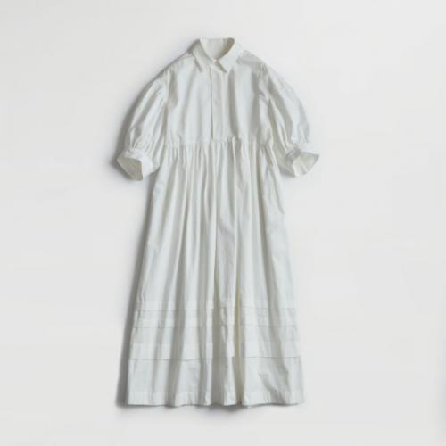Shinzone 【シンゾーン】 MACKENZIE DRESS WHITE(21MMSOP01)