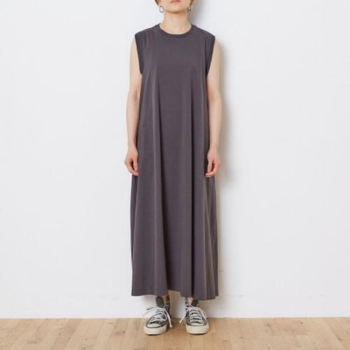 Shinzone 【シンゾーン】 FLARE DRESS BLACK(21MMSCU04)