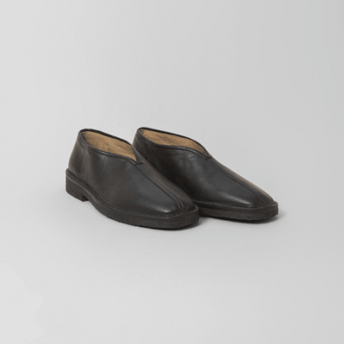 LEMAIRE【ルメール】CHINESE SLIPPERS BLACK (M CAO FO253 LL141)