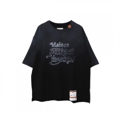 Maison MIHARA YASUHIRO 【メゾンミハラヤスヒロ】 Maison Mihara Yasuhiro Printed T-shirt BLACK A07TS693
