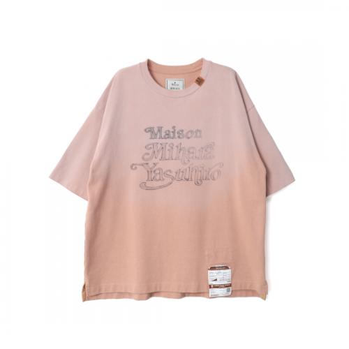 Maison MIHARA YASUHIRO 【メゾンミハラヤスヒロ】 Maison Mihara Yasuhiro Printed T-shirt PINK A07TS693