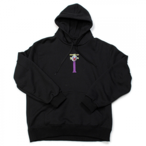 doublet【ダブレット】PUPPET EMBROIDERY HOODIE BLACK 21AW26CS192