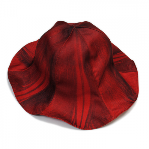 doublet【ダブレット】TURIP PRINTED TULIP HAT RED 21AW41HT12