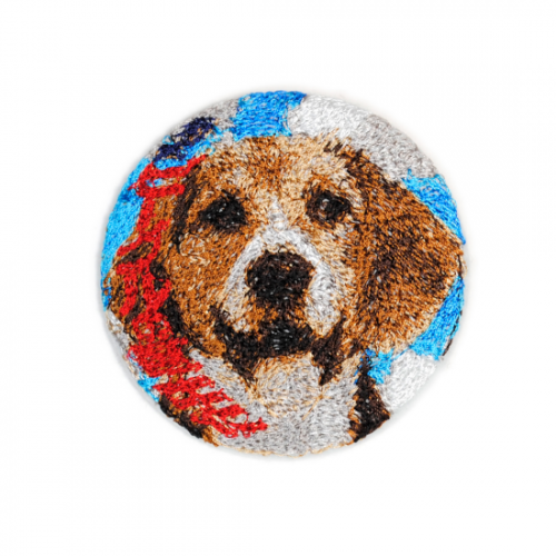 doublet【ダブレット】EMBROIDERY BADGE DOG 21AW52AC01