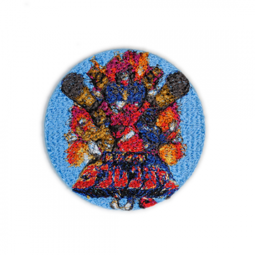 doublet【ダブレット】EMBROIDERY BADGE L.BLUE 21AW52AC01