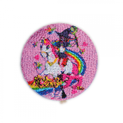 doublet【ダブレット】EMBROIDERY BADGE PINK 21AW52AC01