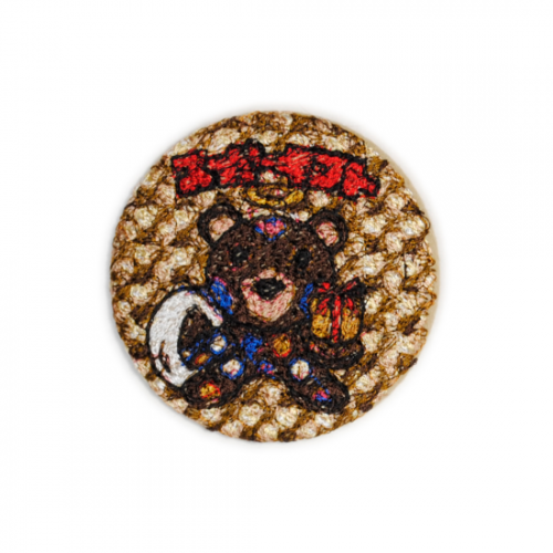 doublet【ダブレット】EMBROIDERY BADGE GOLD 21AW52AC01
