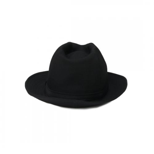 Yohji Yamamoto POUR HOMME W/GABARDINE FEDORA HAT
