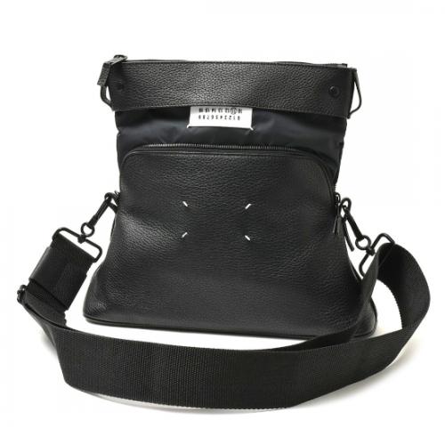 Maison Margiela  【メゾンマルジェラ】 5AC ディアスキンショルダーバッグ(S55WG0125) BLACK