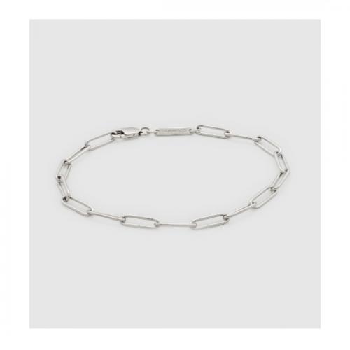 TOM WOOD/トムウッド Box Bracelet,925 Silver 7.0 7.7(B01051NA01925)