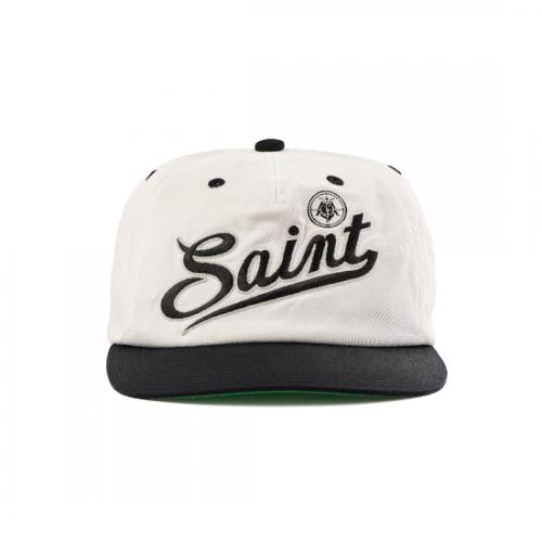 SAINT Mxxxxxx 【セント マイケル】 CAP SAINT WHITE/BLACK SM-A21-0000-044