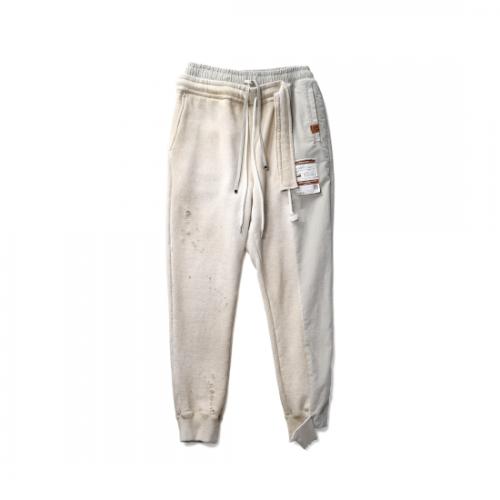 Maison MIHARA YASUHIRO 【メゾンミハラヤスヒロ】 Combined Pants WHITE A07PT553