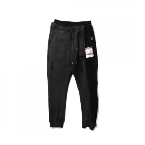 Maison MIHARA YASUHIRO 【メゾンミハラヤスヒロ】 Combined Pants BLACK A07PT553