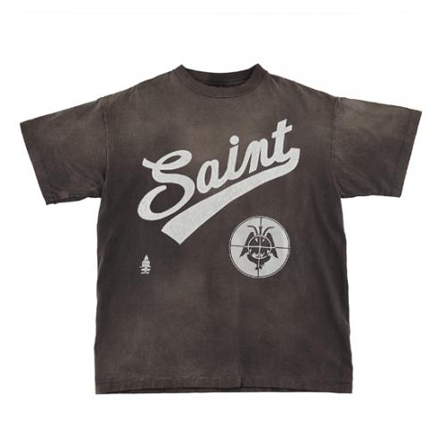 SAINT Mxxxxxx 【セント マイケル】 FOCUS T SHIRTS/BLACK SM-A21-0000-002