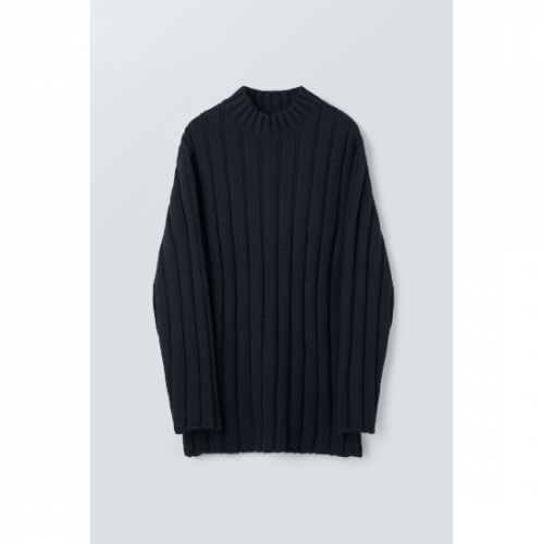 OUR LEGACY【アワーレガシー】 FUNNEL NECK NAVY ACRYLIC (M4213FBA)