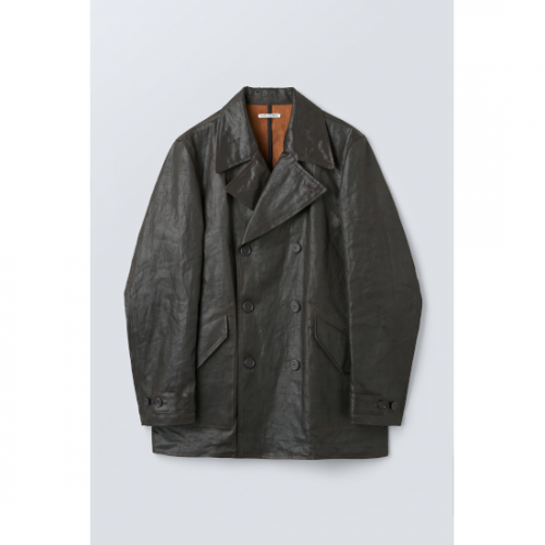 OUR LEGACY【アワーレガシー】 DB BUTA COAT MUD DYED COTTON (M4211BMD)