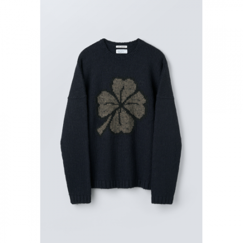 OUR LEGACY【アワーレガシー】 POPOVER ROUNDNECK LUCKY CLOVER (MF213PL)