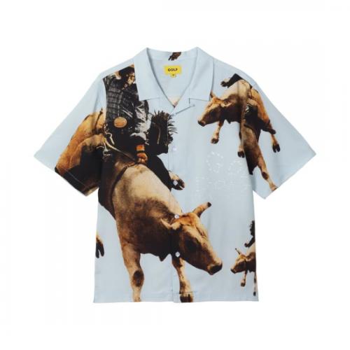 GOLF WANG 【ゴルフワン】 COWBOY BUTTON UP (CB22)