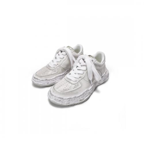 Maison MIHARA YASUHIRO 【メゾンミハラヤスヒロ】 WAYNE OG DE Sole Leather Low-top Sneaker WHITE  A07FW706