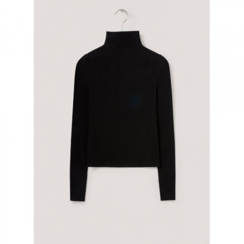 LEMAIRE 【ルメール】 LONG SLEEVE SECOND SKIN TOP BLACK  (W 213 JE424 LJ068)