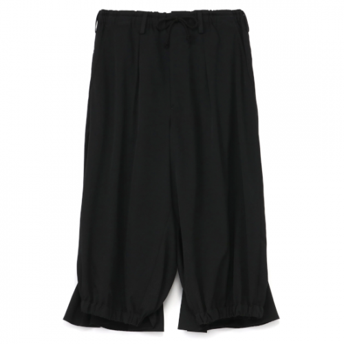 Yohji Yamamoto POUR HOMME  W/GABARDINE CROW PANTS (HX-P03-140)