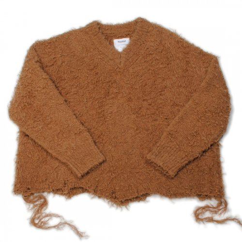 doublet【ダブレット】ANIMAL FUR CUT OFF PULLOVER CAMEL (21AW04BL123)