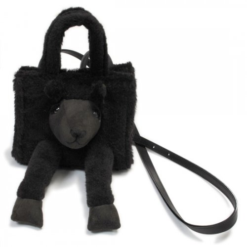"doublet【ダブレット】STUFFED ANIMAL FUR BAG ""S"" ALPACA (21AW05BG29)"