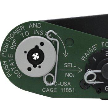 コンタクトピン圧着ペンチ(DMC M22520/7-01)