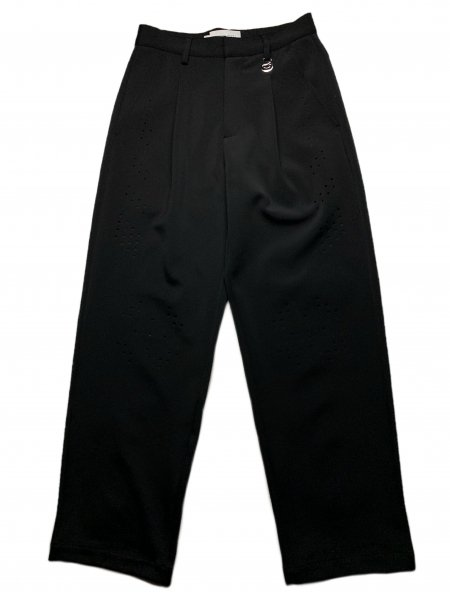 Tailored Trousers With Laser Cut Pattern