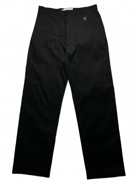 Trousers With Laser Cut Pattern Panels
