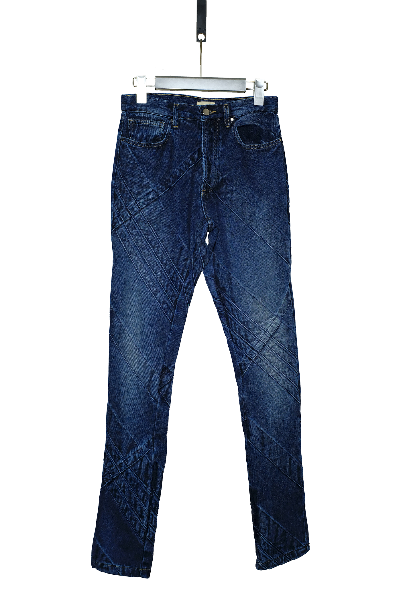 JEANS WITH SEAM DETAILS