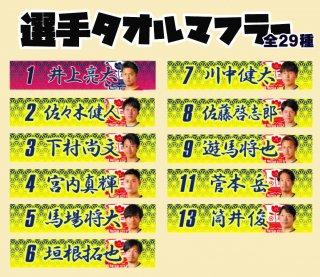 【新商品】選手タオルマフラー(全29種)