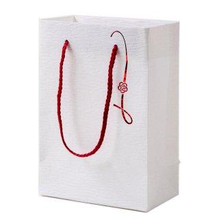 和風バッグ 梅結び プチギフト用バッグ 和紙加工