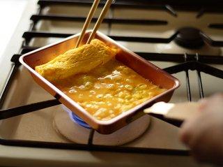 玉子焼き12(錫メッキなし) 【アメイロ】 COS8001