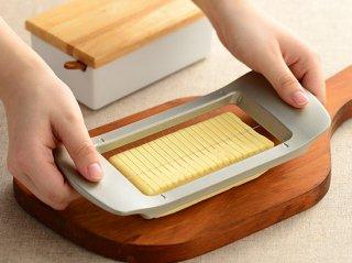 ワイヤーでスーッと切れるバターカッター 【レイエ】 LS1551