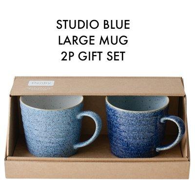 Studio Blue スタジオブルー ラージマグ 350ml 2個ギフトセット