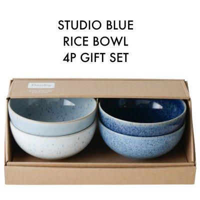 Studio Blue スタジオブルー ライスボウル 4個ギフトセット