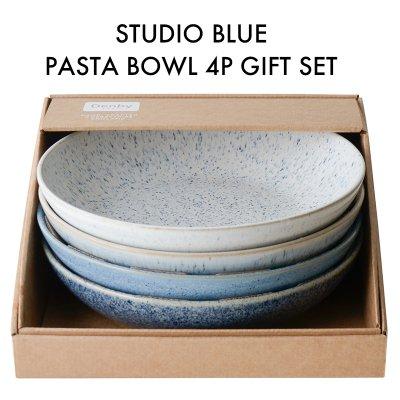 Studio Blue スタジオブルーパスタボウル 4枚ギフトセット