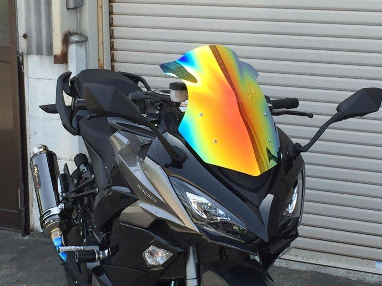Kawasaki 17-19  Ninja1000ミラースクリーン