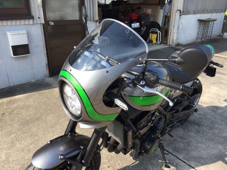 Kawasaki Z900RS CAFEクリアスクリーン