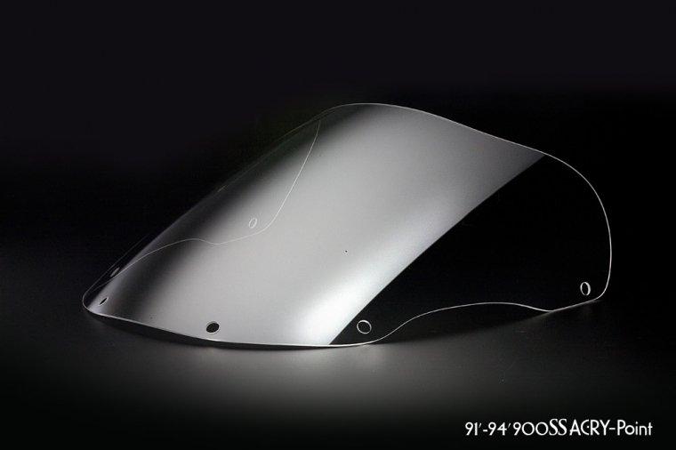 DUCATI 91-94 900SSクリアスクリーン