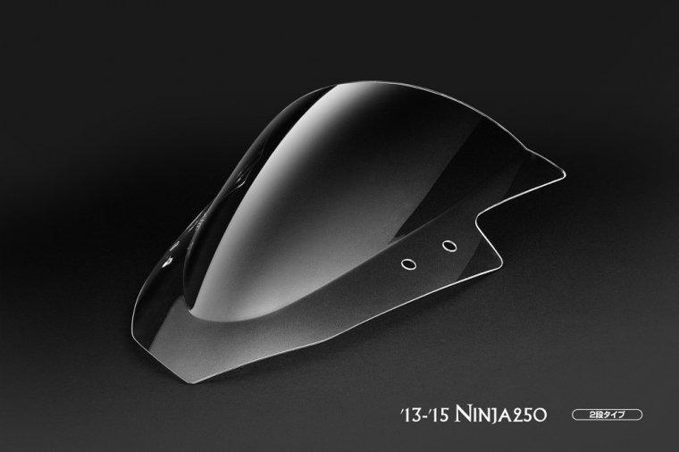 Kawasaki 13-16 Ninja250クリアスクリーン