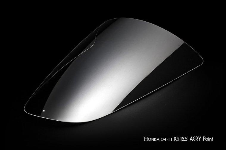 HONDA 04-11 RS125Rクリアスクリーン レース用