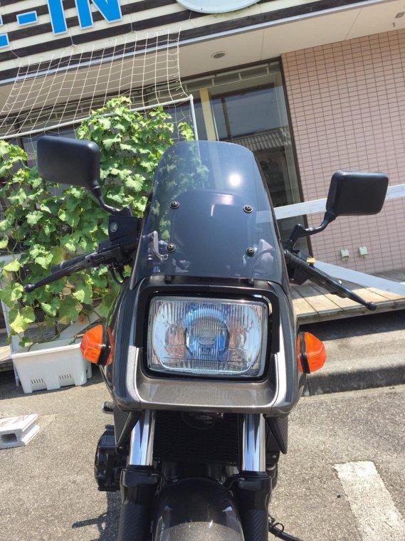 SUZUKI GSX400S刀スモークスクリーン