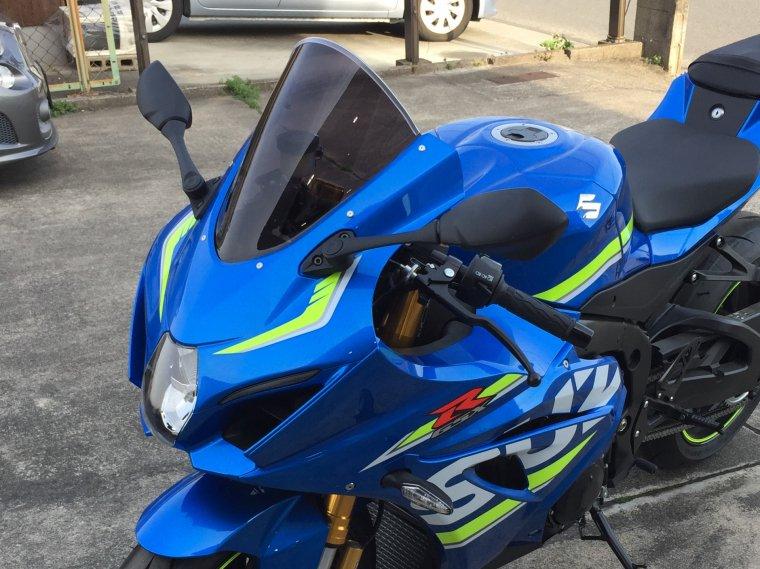 SUZUKI 17-19GSX-R1000スモークスクリーン