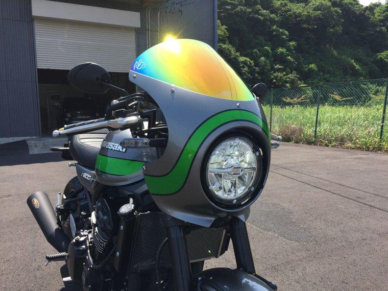 Kawasaki Z900RS&Z900RS CAFE ライトシールドクリア