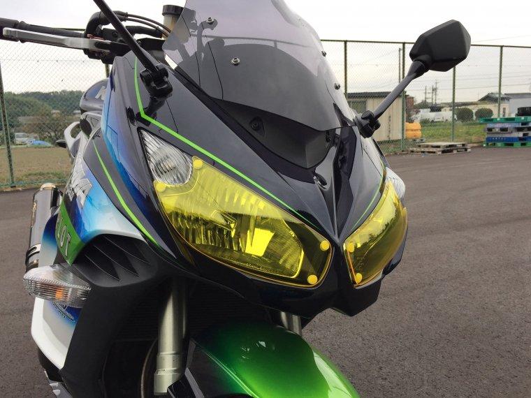 Kawasaki 11-16Ninja1000 ライトシールドイエロー